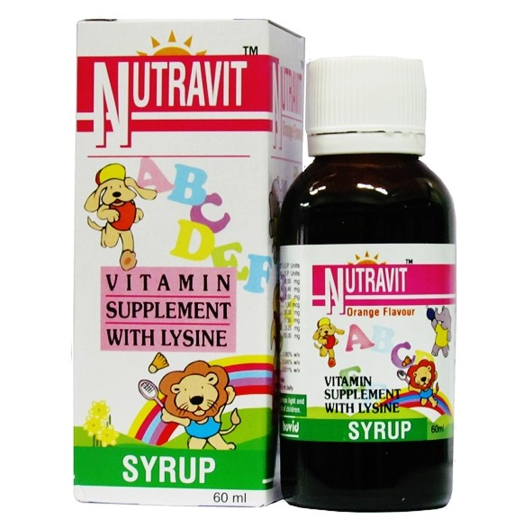 Nutravit Vitamin Syrup 60ml - Shop on Click