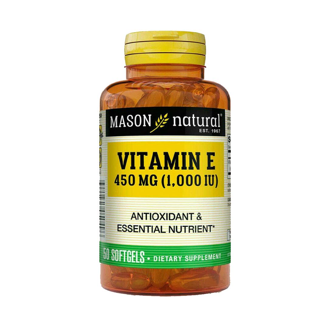 Mason Natural Vitamin E 450mg 50 Softgels Shop On Click